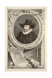 Portrait of Archbishop Williams  Lord Keeper of the Seal  Illustration from 'Heads of Illustrious…