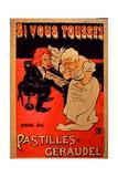 Pastilles Géraudel Poster