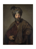 Man in Oriental Costume  C1635