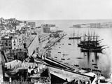 Entrance to the Great Harbour  Malta  C1880