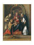 The Mystic Marriage of St Catherine  1510- 15