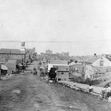 Fifth Street  Leavenworth  Kansas  1867