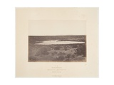 """Small Soda Lake  Carson Desert  from the Series """"Geological Exploration of the Fortieth…"""