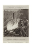 Death of Ridley and Latimer