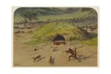 Prehistoric Scene  1871