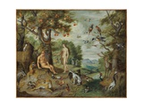 The Temptation of Adam  from the Story of Adam and Eve