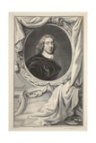 Portrait of Sir Henry Vane  Illustration from 'Heads of Illustrious Persons of Great Britain' …