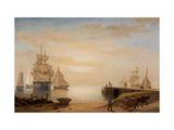 View of Gloucester Harbor  1852