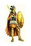 A Spartan Hoplite  or Heavy Armed Soldier