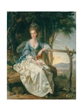 Portrait of Miss Matilda Clevland in a Tuscan Landscape