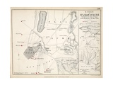 Map of the Siege of St Jean D'Acre  Published by William Blackwood and Sons  Edinburgh and…