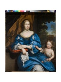 Portrait of a Lady with Her Child  C1660