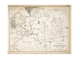 Map of the Battle of Marengo  Published by William Blackwood and Sons  Edinburgh and London  1848