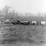 Captain Sanderson's Camp at the Ford  Custer's Battlefield  1879
