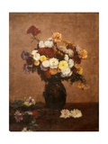 Flowers in a Vase  1872