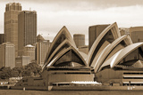 A View of the Sydney Opera House from the Harbour  Sydney  New South Wales