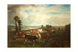 Landscape  Les Hauteurs De Suresnes  1856