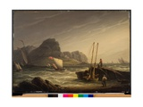 A Breezy Day on the Coast  1822