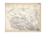 Map of the Battle of Novi  Published by William Blackwood and Sons  Edinburgh and London  1848