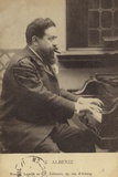 Isaac Albeniz  Spanish Pianist and Composer (1860-1909)