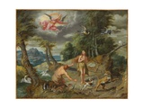 The Expulsion from Paradise  from the Story of Adam and Eve