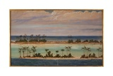 Triptych of an Atoll  1871