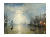 Keelmen Heaving in Coals by Moonlight  1835