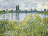 Banks of the Seine  Vetheuil  1880
