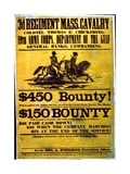 A Recruitment Poster for the 3rd Regiment  Massachusetts Cavalry  1863-65