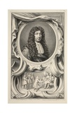 Portrait of Savile  Marquis of Halifax  Illustration from 'Heads of Illustrious Persons of Great…