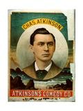 Chas Atkinson of Atkinson's Comedy Co
