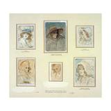 Six Fancy Heads of Women