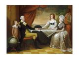 The Washington Family  1789-1796