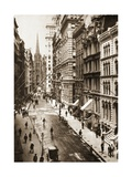 Wall Street  New York City  1898