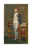 The Emperor Napoleon in His Study at the Tuileries  1812