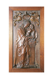 Wooden Relief of Virgin with Infant by Diego Siloe 1544
