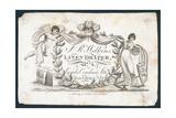 J R Wilkins  Linen Draper  Trade Card