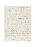 Autograph Letter to John Ruskin  Casa Giudi  Florence  3rd June 1859