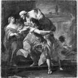 Aeneas Carrying Anchises  1729