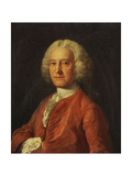 Portrait of Samuel Martin  Bust Length  in a Pink Coat  White Stock and Lace-Edged White Shirt …