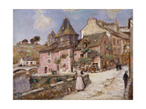 Breton Town Scene