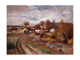 Normandy Countryside; Paysage En Normandie  1895