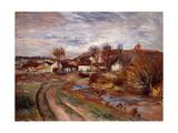 Normandy Countryside; Paysage En Normandie  1895