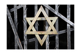 Dachau Concentration Camp Jewish Memorial Star of David Germany