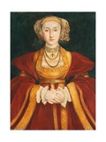 Anne of Cleves  after Hans Holbein the Younger  C1860-62