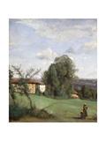A Farm in Dardagny; Une Ferme De Dardagny  C1855-57