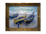 Claude Monet (1840-1926) Three Fishing Boats  1886