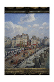 Camille Pissarro (1830-1903) The Pont-Neuf (1902) Museum of Fine Arts Budapest Hungary