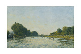 The Seine at Bougival; La Seine a Bougival  1872