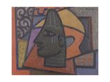 Design with Benin Head